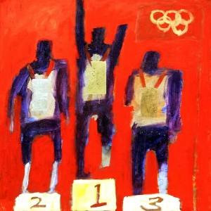 "Gregory Burns ""Paralympic Podium"""