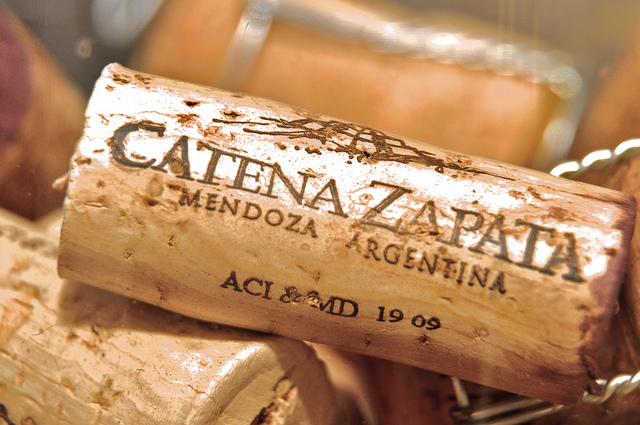 Cork from Argentinean wine