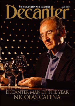 Nicolas Catena, decanter man of the year